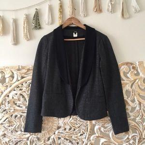 J. Crew Wool Tuxedo Blazer